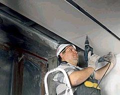Как сделать обрешетку на пластиковые потолки